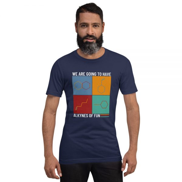 unisex staple t shirt navy front 610d78c42847f 600x600 - Alkynes of Fun