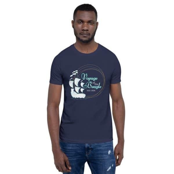 unisex staple t shirt navy front 610d88427c96a 600x600 - Voyage of the Beagle