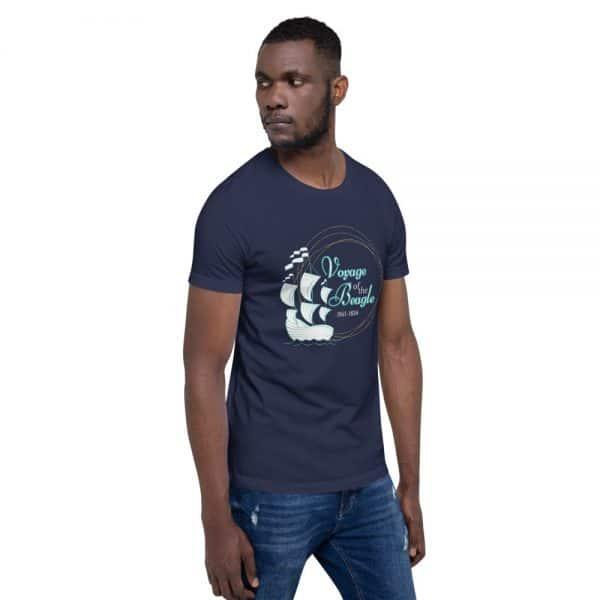 unisex staple t shirt navy right front 610d88427d2c7 600x600 - Voyage of the Beagle