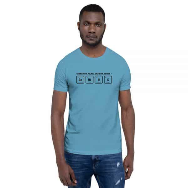 unisex staple t shirt ocean blue front 610d5ef52e856 600x600 - GeNiUS