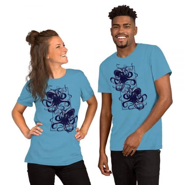 unisex staple t shirt ocean blue front 610d7d9f14d32 600x600 - Octopus vulgaris