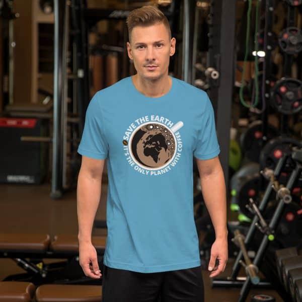 unisex staple t shirt ocean blue front 610d7e28ab91e 600x600 - Save The Earth