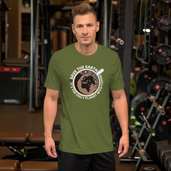 unisex staple t shirt olive front 610d7e289f7a2 600x600 - Save The Earth
