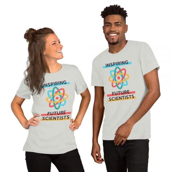 unisex staple t shirt silver front 610d6960a0378 600x600 - Inspiring Future Scientists
