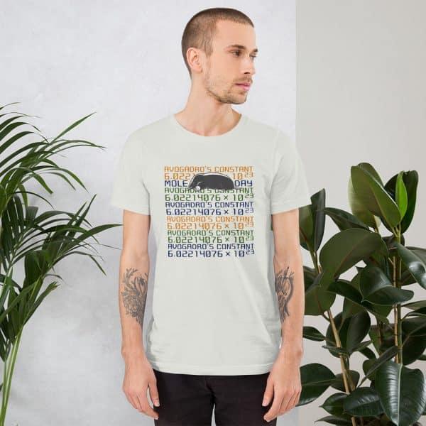unisex staple t shirt silver front 610d6c7458222 600x600 - Mole Day