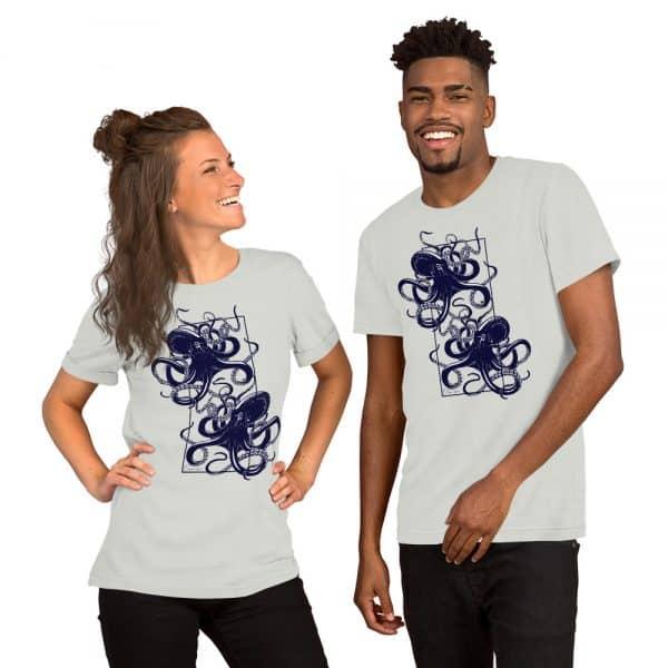unisex staple t shirt silver front 610d7d9f35aaa 600x600 - Octopus vulgaris