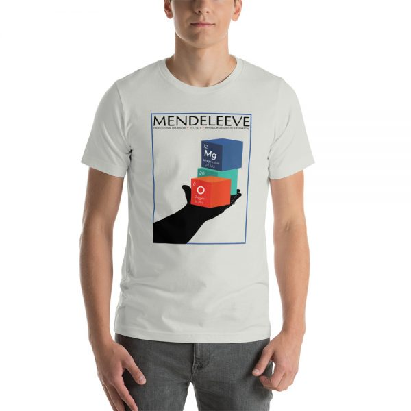 unisex staple t shirt silver front 610d8a442eb5a 600x600 - Mendeleev