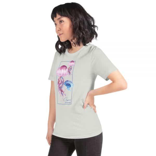 unisex staple t shirt silver left front 610d7a6cd488e 600x600 - Jellyfish