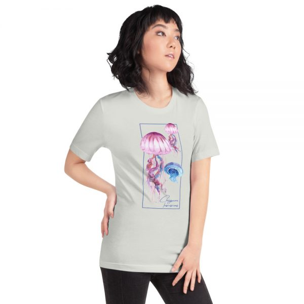unisex staple t shirt silver right front 610d7a6cd7d21 600x600 - Jellyfish