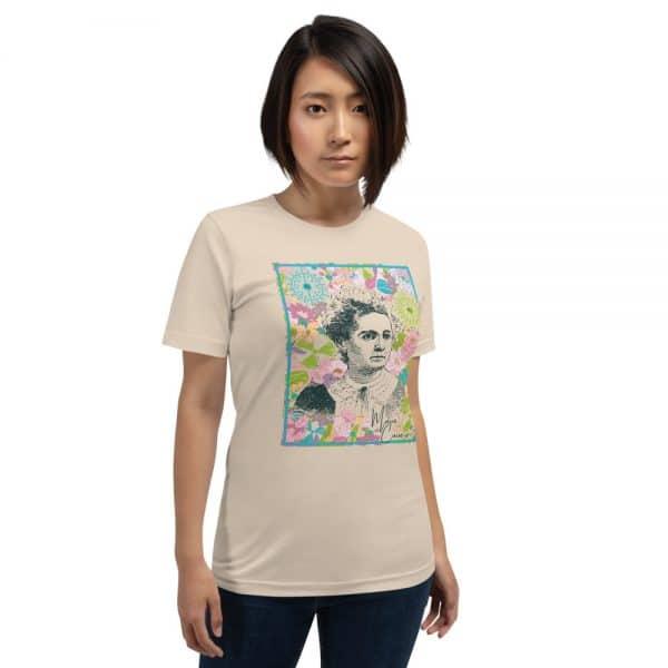 unisex staple t shirt soft cream front 610d780585af6 600x600 - Marie Curie