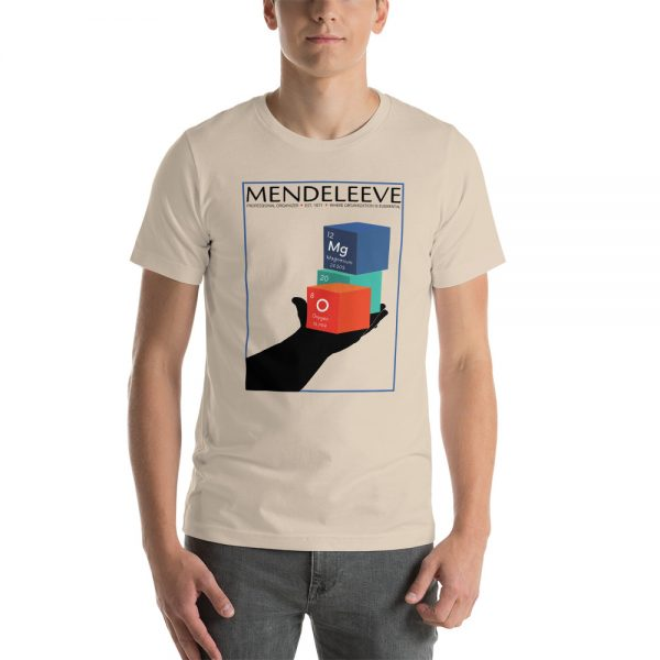 unisex staple t shirt soft cream front 610d8a4428090 600x600 - Mendeleev