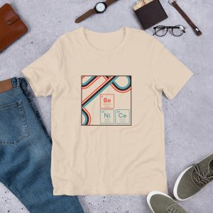 unisex staple t shirt soft cream front 610d9442e5fe2 300x300 - Be NiCe