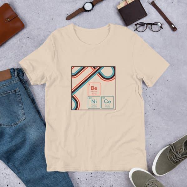 unisex staple t shirt soft cream front 610d9442e5fe2 600x600 - Be NiCe