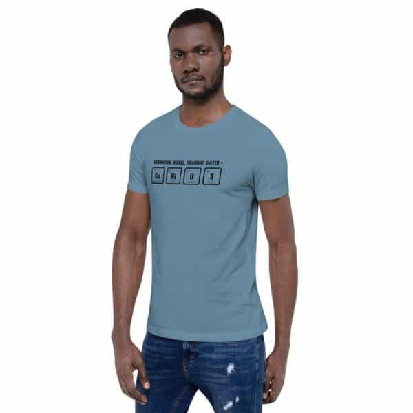 unisex staple t shirt steel blue left front 610d5ef52bfc8 600x600 - GeNiUS