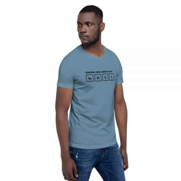 unisex staple t shirt steel blue right front 610d5ef52c798 600x600 - GeNiUS