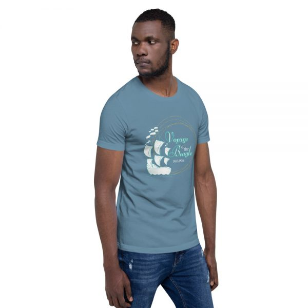 unisex staple t shirt steel blue right front 610d88428cd5e 600x600 - Voyage of the Beagle