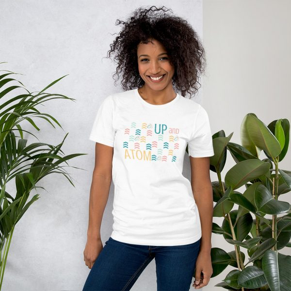 unisex staple t shirt white front 610d5d5a6fe90 600x600 - Up and Atom
