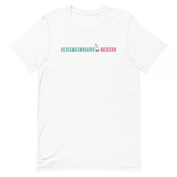 unisex staple t shirt white front 610d674aa42e7 600x600 - Enjoy the Little Things