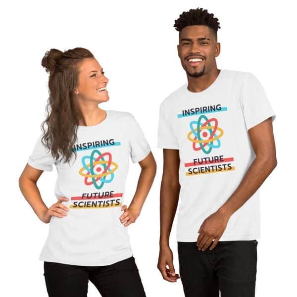 unisex staple t shirt white front 610d6960a56c0 600x600 - Inspiring Future Scientists