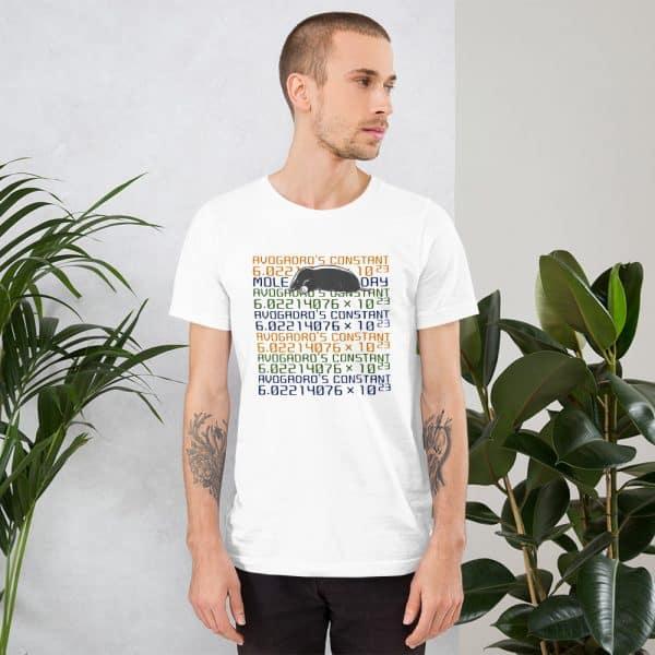 unisex staple t shirt white front 610d6c7451e99 600x600 - Mole Day