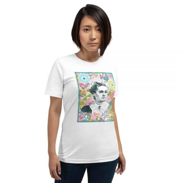 unisex staple t shirt white front 610d780589e61 600x600 - Marie Curie