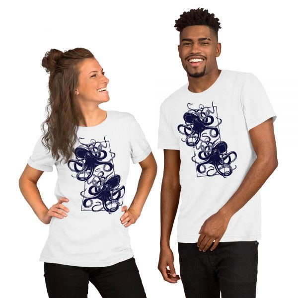 unisex staple t shirt white front 610d7d9f3ae8e 600x600 - Octopus vulgaris
