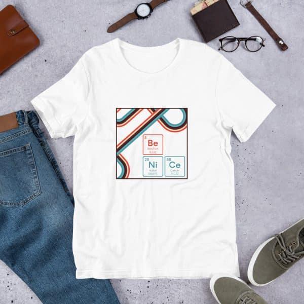 unisex staple t shirt white front 610d9442eddc9 600x600 - Be NiCe