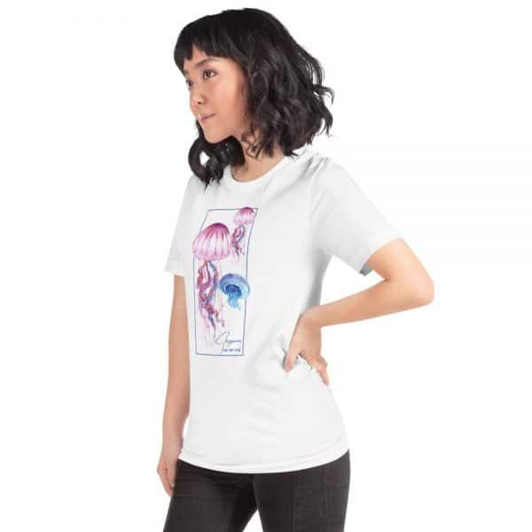 unisex staple t shirt white left front 610d7a6ce589c 600x600 - Jellyfish