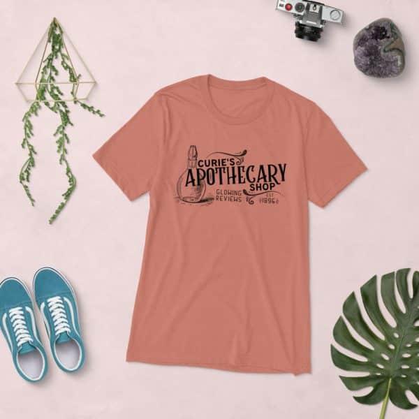 unisex tri blend t shirt mauve triblend front 60ef23baf1838 600x600 - Curie Apothecary